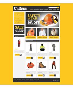 Zen Cart e-shop šablona na téma Bezpečnost č. 50906