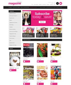 Zen Cart e-shop šablona na téma Média č. 50963