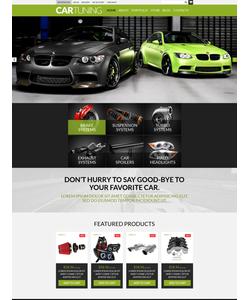 WooCommerce e-shop šablona na téma Auta č. 50988