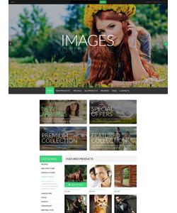 Zen Cart e-shop šablona na téma Umění a fotografie č. 50991