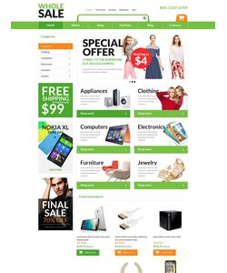 WooCommerce e-shop šablona na téma Elektronika č. 51051