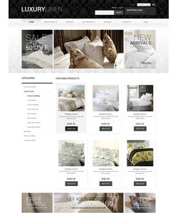 Zen Cart e-shop šablona na téma Interiér a nábytek č. 51052