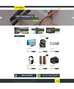 WooCommerce e-shop šablona na téma Elektronika č. 51107