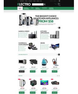 Zen Cart e-shop šablona na téma Elektronika č. 51122