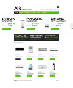 WooCommerce e-shop šablona na téma Doprava č. 51130