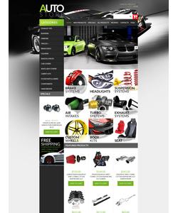 Zen Cart e-shop šablona na téma Auta č. 51142