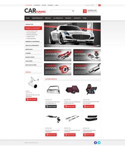 Zen Cart e-shop šablona na téma Auta č. 51242