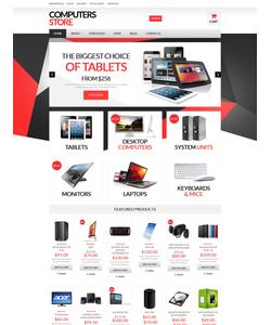 WooCommerce e-shop šablona na téma Software č. 51337