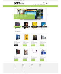 WooCommerce e-shop šablona na téma Software č. 51356