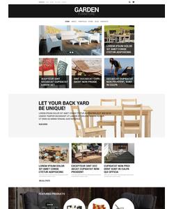 WooCommerce e-shop šablona na téma Interiér a nábytek č. 51400
