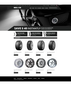 Zen Cart e-shop šablona na téma Auta č. 51735