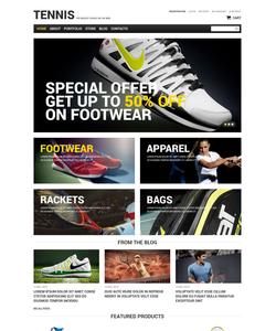 WooCommerce e-shop šablona na téma Sport č. 51757