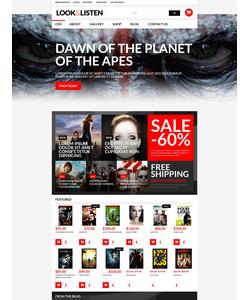 WooCommerce e-shop šablona na téma Doprava č. 51789