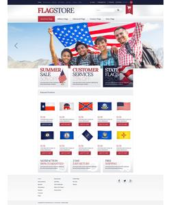 Zen Cart e-shop šablona na téma Politika č. 51793