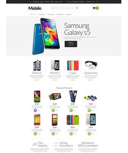 Zen Cart e-shop šablona na téma Elektronika č. 51794