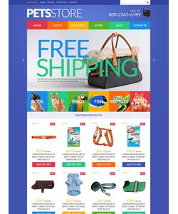 WooCommerce e-shop šablona na téma Zvířata č. 51843