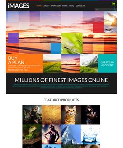 WooCommerce e-shop šablona na téma Umění a fotografie č. 51860