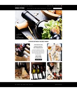 Zen Cart e-shop šablona na téma Jídlo a pití č. 51865