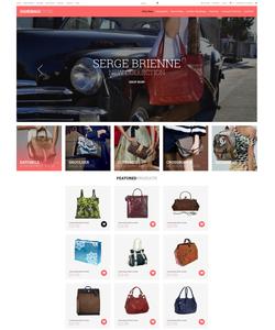 Zen Cart e-shop šablona na téma Móda č. 52035