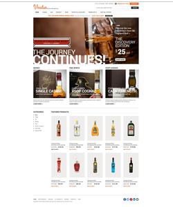 Zen Cart e-shop šablona na téma Jídlo a pití č. 52082
