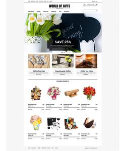 Zen Cart e-shop šablona na téma Dárky č. 52124