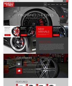 WooCommerce e-shop šablona na téma Auta č. 52145