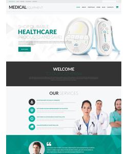 WooCommerce e-shop šablona na téma Lékařské č. 52300