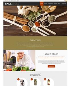 WooCommerce e-shop šablona na téma Café a restaurace č. 52329