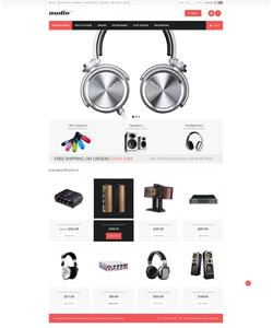 Zen Cart e-shop šablona na téma Elektronika č. 52356