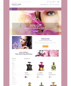 Zen Cart e-shop šablona na téma Krása č. 52366