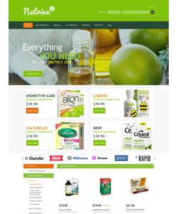 Zen Cart e-shop šablona na téma Lekařské č. 52367