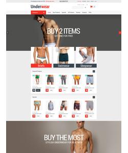 Zen Cart e-shop šablona na téma Móda č. 52368