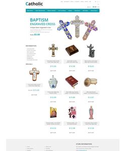Zen Cart e-shop šablona na téma Náboženství č. 52431