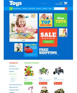 Zen Cart e-shop šablona na téma Zábava č. 52432