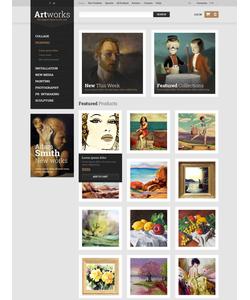 Zen Cart e-shop šablona na téma Umění a fotografie č. 52433