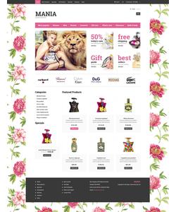 Zen Cart e-shop šablona na téma Krása č. 52434