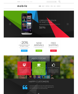 WooCommerce e-shop šablona na téma Elektronika č. 52461