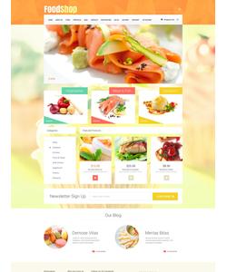 WooCommerce e-shop šablona na téma Café a restaurace č. 52488