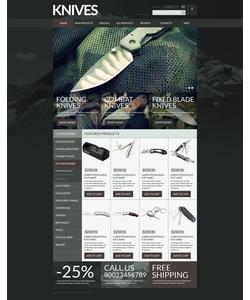 Zen Cart e-shop šablona na téma Vojenské č. 52697