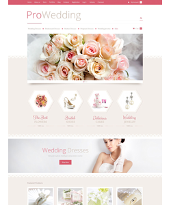 WooCommerce e-shop šablona na téma Svatby č. 53023