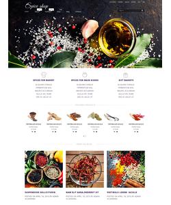 WooCommerce e-shop šablona na téma Café a restaurace č. 53423