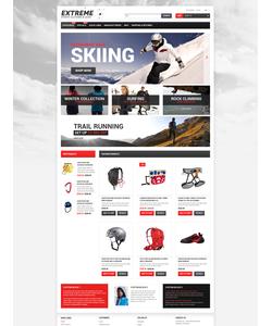 Zen Cart e-shop šablona na téma Sport č. 53474