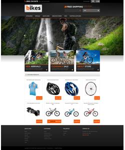 Zen Cart e-shop šablona na téma Sport č. 53687
