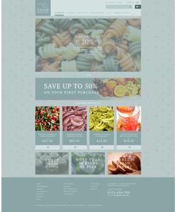 Zen Cart e-shop šablona na téma Jídlo a pití č. 53886