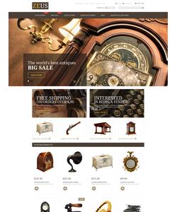 Zen Cart e-shop šablona na téma Nejpopulárnější č. 53946