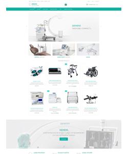 Zen Cart e-shop šablona na téma Lekařské č. 54715