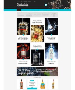 Zen Cart e-shop šablona na téma Jídlo a pití č. 54720
