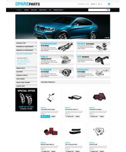 Zen Cart e-shop šablona na téma Auta č. 55219