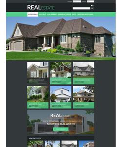 Zen Cart e-shop šablona na téma Nemovitosti č. 55356