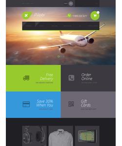 Zen Cart e-shop šablona na téma Doprava č. 55604